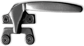 Aluminum-Awning Window-push-out or hopper lock-single point cam handle-black finish
