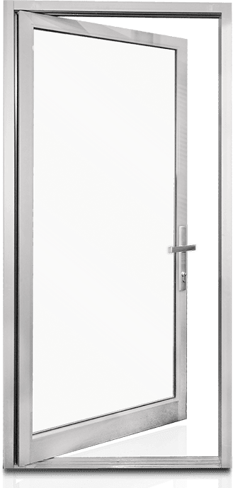 Aluminum Swing Doors Entrance MS362T_NS212TR