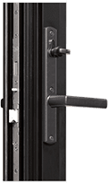 Aluminum-Swinging Door-TD400 Terrace Door-Vohue H Multipoint Handle-Black Finish