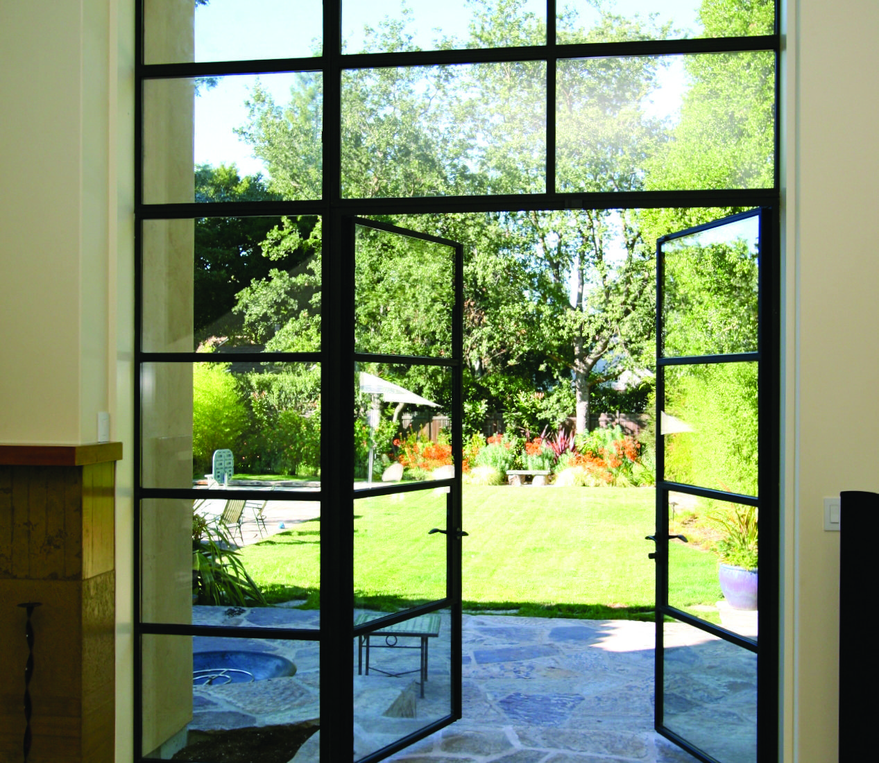 French Exterior Doors Steel: Arcadia Custom
