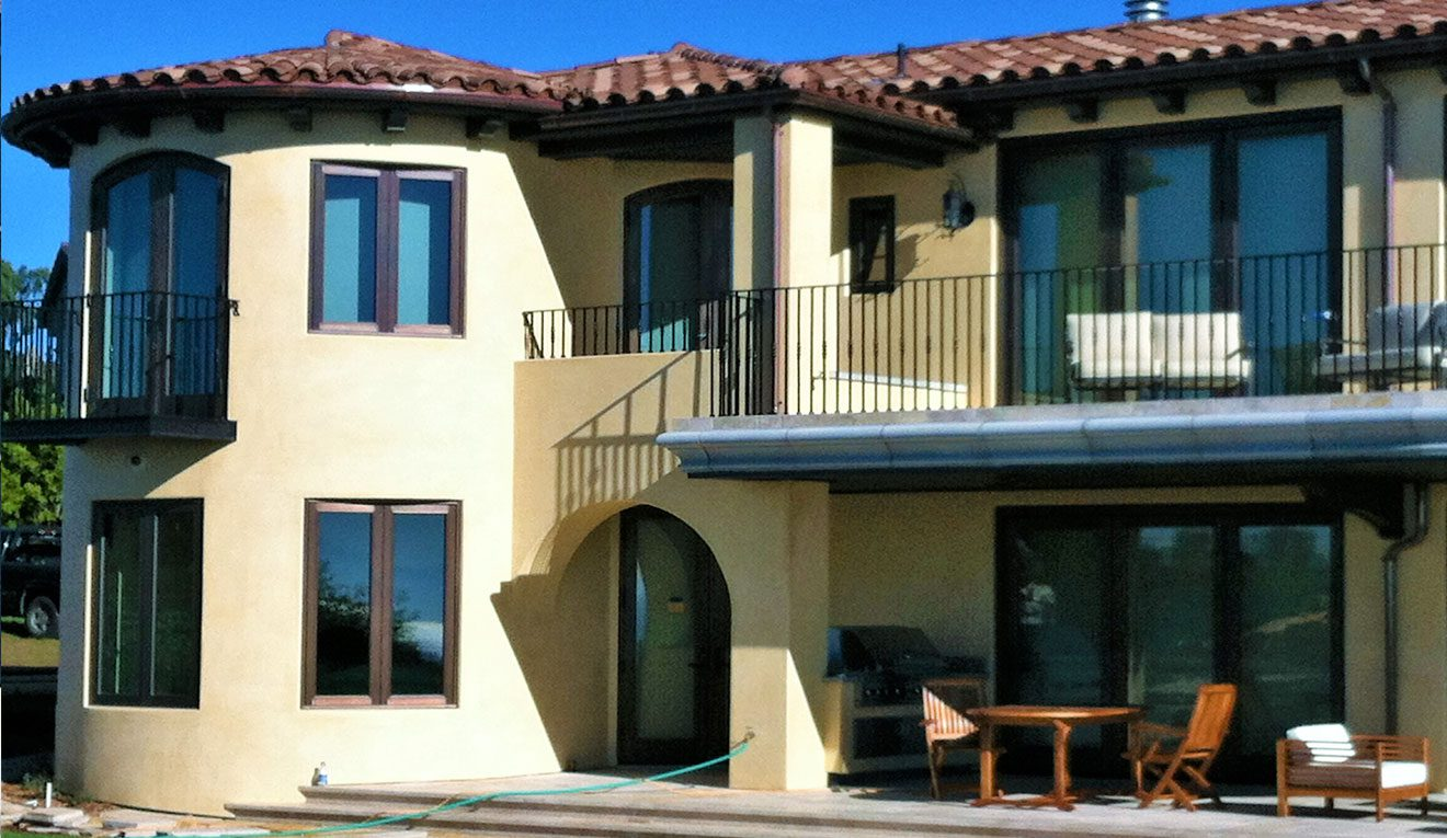 Life-Style-2—Bronze-French-Casement-Push-Out-Window-on-a-house