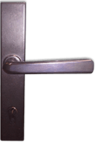 Steel-Door-Classic Bronze Door Lever