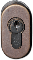 Steel-Door-Hardware-Escutcheion Details-Keyed Profile Cylinder