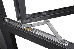 Steel Window-Concealed Friction Hinge (Stainless Steel)