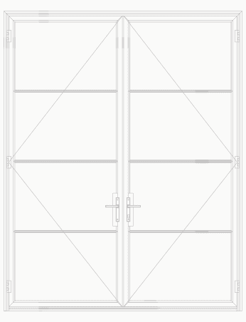 T225 4 Lite SDL Double Door