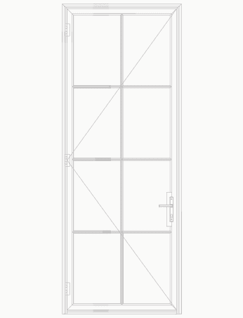 T225 8 Lite SDL Single Door