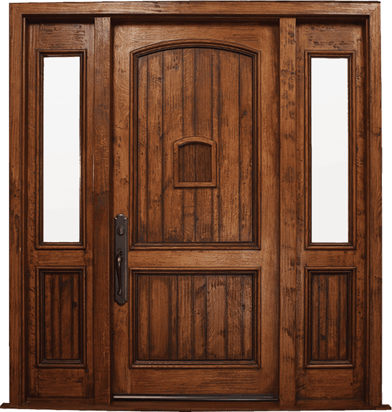 Wood-Door-Swing-Exterior Doors – Sidelite Fixed