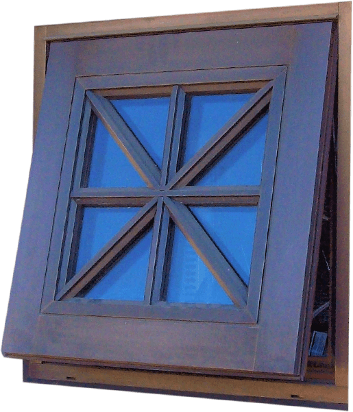 Wood – Window – Awning_Hopper-Push Out-Awning Bronze Clad