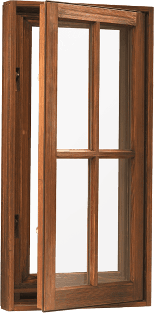 Wood – Window – Casement – Casement Crank Out (Outswing)