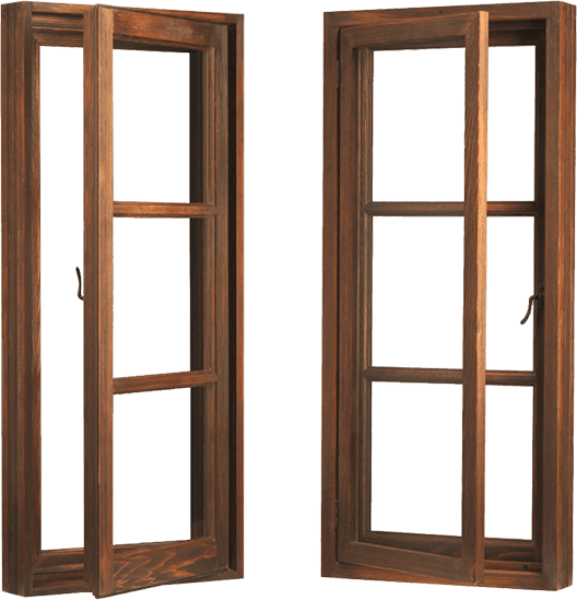 Wood – Window – Casement – Casement Push Out (Outswing)