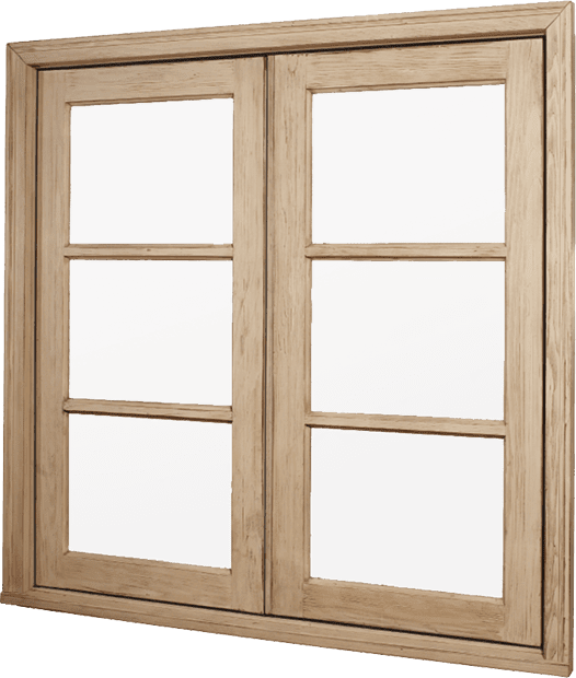Wood – Window – Casement – French Casement Push Out (Outswing)