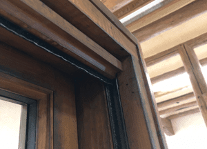 Wood Windows – Window Roll Down Screen (1)