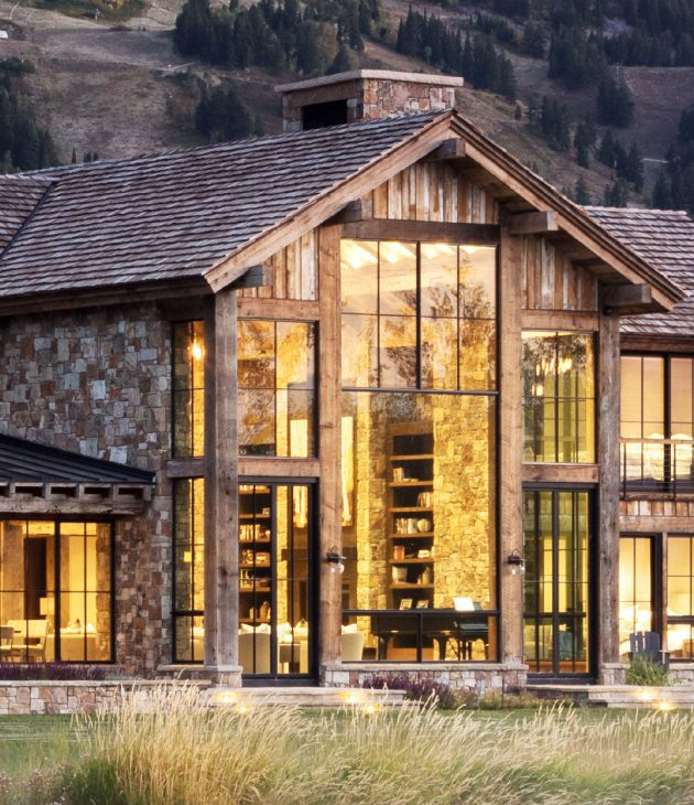 Mountain-Rustic-TSX1000-Fixed-Windows-TSX2000-Casement-Windows-Window-Wall_2